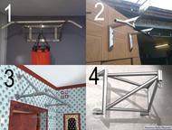 Турники комнатные, настенные Турник комнатный универсальный (фото 1)  Цена 11 80