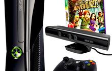 Срочно продам! X-box 360 - 500 gb + kinekt + геймпад + 8 игр