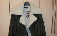 Куртка теплая с мехом Англия