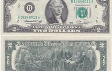 2 доллара США 2003г, На удачу, пресс