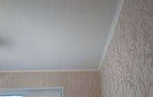 Выравнивание потолка, побелка и удаление пятен