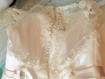 Смотреть изображение Свадебные платья Свадебное платье, новое, ни разу не надевалось, размер 42-48 33101548 в Перми