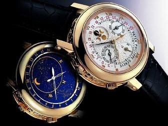 Смотреть изображение  Часы patek philippe SKY moon tourbillon 38985345 в Перми