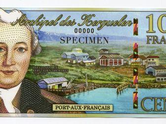 Скачать изображение Коллекционирование 100 франков - Кергелен 2012 года 52400232 в Перми