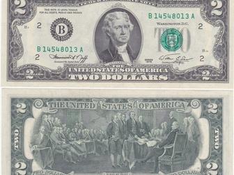 Смотреть фотографию Коллекционирование 2 доллара США 2003г, На удачу, пресс 52927363 в Перми