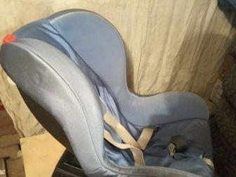 Продам автокресло Ramatti, 5 точечные ремни, 0-18 кг,  Состояние хорошее,  Крепление штатным ремнем безопасности,  Высокие боковинки не дают упасть голове и обеспечивают в Перми