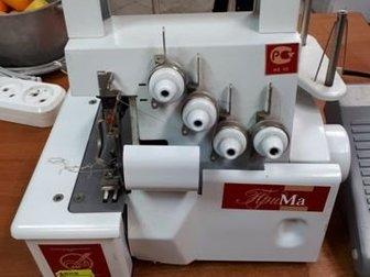 Комиссионный магазин Скупка59 на Ш, Космонавтов, 22Б приветствует Вас, Работаем с 9 до 19 часов, понедельник - выходной, В продаже хороший бытовой 4-ниточный оверлок в Перми
