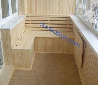 Фото в Мебель и интерьер Производство мебели на заказ ОСТЕКЛЕНИЕ и ОТДЕЛКА балконов.     * ЗАСТЕКЛИТЬ в Перми 11000