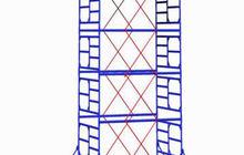 Вышки стальные передвижные,леса рамные, хомутовые, подмости для внутренней отделки