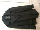 Уникальное фото Мужская одежда Итальянская куртка-бушлат р, 50-52 состав 60% шерсть 56670504 в Питере
