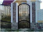 Смотреть foto Другие строительные услуги Вороты и калитки 38895352 в Пятигорске
