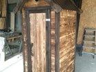 Дачный туалет (деревянный туалет)
