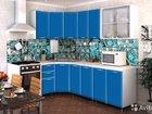 Кухня Радуга 3,7 м синяя (есть другие) в наличии
