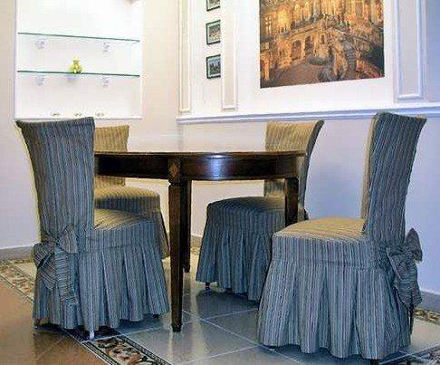 Фото чехлов на стулья своими руками