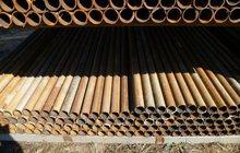 Продадим трубу бу на столбы, забор, опоры, ограды