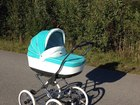Скачать фотографию Детские коляски Продаю отличную коляску Roan Marita Prestige 2в1 38931340 в Пскове