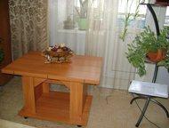 Стол бабочка связи с переездом, продается стол-трансформер (журнальный+для торже