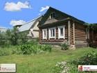 Продается жилой бревенчатый дом общей площадью 32 кв.м на уч