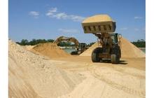 Песок строительный, песок мытый