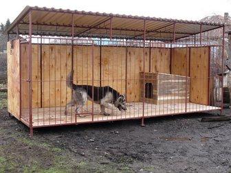 Смотреть фото Отделочные материалы Вольер для собак с доставкой 32712630 в Рязани