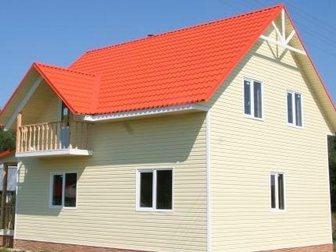 Просмотреть фотографию Строительные материалы Дом из Сип панелей Green Board - надежный, теплый, экономичный 32850376 в Рязани