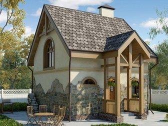 Смотреть фото Строительные материалы Дом из Сип панелей Green Board - надежный, теплый, экономичный 32850376 в Рязани