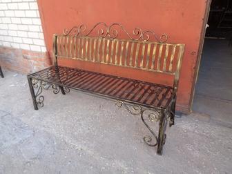 Просмотреть фото Мебель для дачи и сада кованная мебель и другие металлоконструкции 38221400 в Рязани