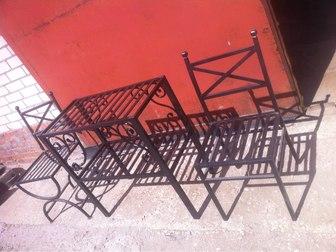 Свежее изображение Мебель для дачи и сада кованная мебель и другие металлоконструкции 38221400 в Рязани