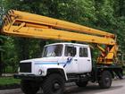 Новое фотографию Автогидроподъемник (вышка) Автовышка ГАЗ 33081(2-х рядная кабина),высота подъема 16м 33025115 в Ростове-на-Дону
