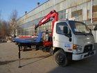 Скачать фото Эвакуатор Эвакуатор Hyundai 78 со сдвижной платформой и КМУ 33112230 в Ростове-на-Дону