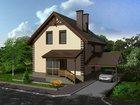 Увидеть фото Загородные дома На участке 6 соток новый кирпичный дом общей площадью 207 м, кв. 34027004 в Ростове-на-Дону