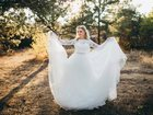 Просмотреть фото Свадебные платья Шикарное свадебное платье Naviblue Bridal, Производство США 34743606 в Ростове-на-Дону