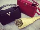 ����������� �   ��� ������, Louis Vuitton capucines mini � �������-��-���� 5�400