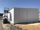 . Склад металлоконструкция 200кв.м. - пол бетон, Д25м.*Ш8м.*