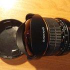 Широкоугольный объектив Samyang 8mm