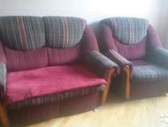 Продам комплект мягкой мебели Продам комплект мягкой мебели: диван-кровать и два
