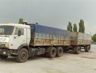 Продам грузовой автотранспорт сцепка Камаз 53215 и прицеп СЗАП 8357 - 2004г. в.