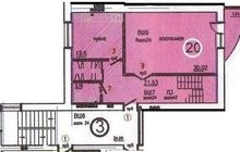 3-к квартира 2-х уровневая 136 кв, м, Центр