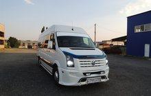 Заказ микроавтобуса volkswagen crafter VIP 21 место