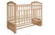 Кровать детская Алита, продол, маятник, цвет бук