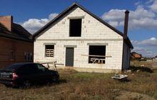 Продается земельный участок с построенным домом в коттеджном