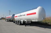 Газовоз цистерна dogan yildiz 65 м3