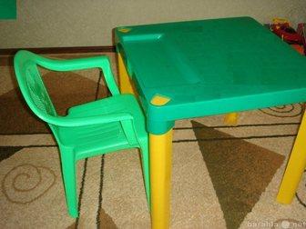 Уникальное foto Детская мебель Продаю стол+стульчик в отличном состоянии б/у, Для ребенка от 2-6 лет, 32482516 в Ростове-на-Дону