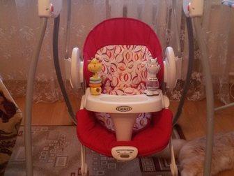 Свежее изображение Детская мебель Продам Электронные качели Graco 32484038 в Ростове-на-Дону