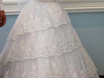Скачать фотографию Женская одежда Продаю по символической цене идеальное свадебное платье 33658885 в Зернограде