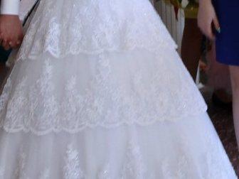 Просмотреть foto Женская одежда Продаю по символической цене идеальное свадебное платье 33658885 в Зернограде
