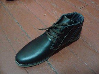 Скачать foto Мужская обувь Кожаные зимние ботинки мужские от производителя 34066423 в Ростове-на-Дону