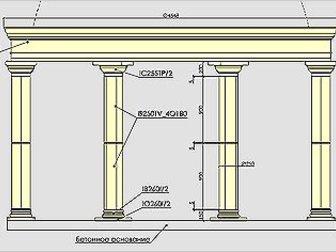 Увидеть фото  Архитектурный декор, Архикамень, 34696634 в Ростове-на-Дону