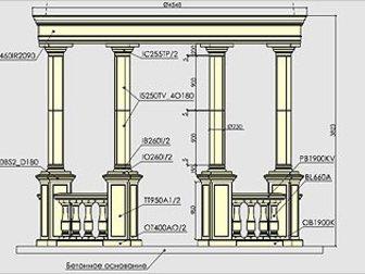 Скачать бесплатно фото  Архитектурный декор, Архикамень, 34696634 в Ростове-на-Дону