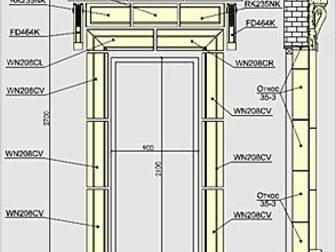 Уникальное изображение Дизайн интерьера Дверные обрамления Архикамень 34701298 в Ростове-на-Дону